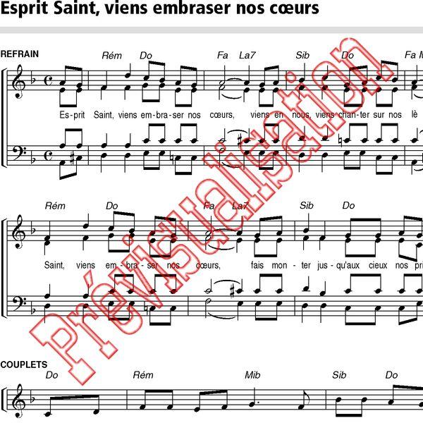 Esprit saint viens embraser nos coeurs gilles du for Dans nos coeurs 44