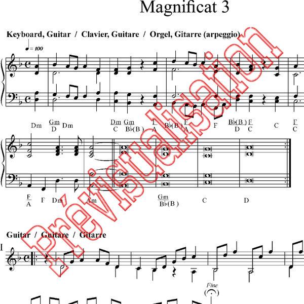 Magnificat 3 [ Cté de Taizé Réf: P001226 Produit original: Taizé 841