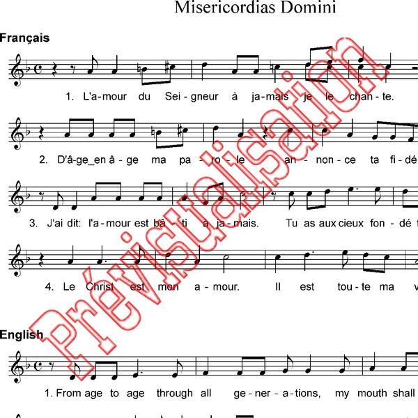 Misericordias Domini Taize Pdf Download