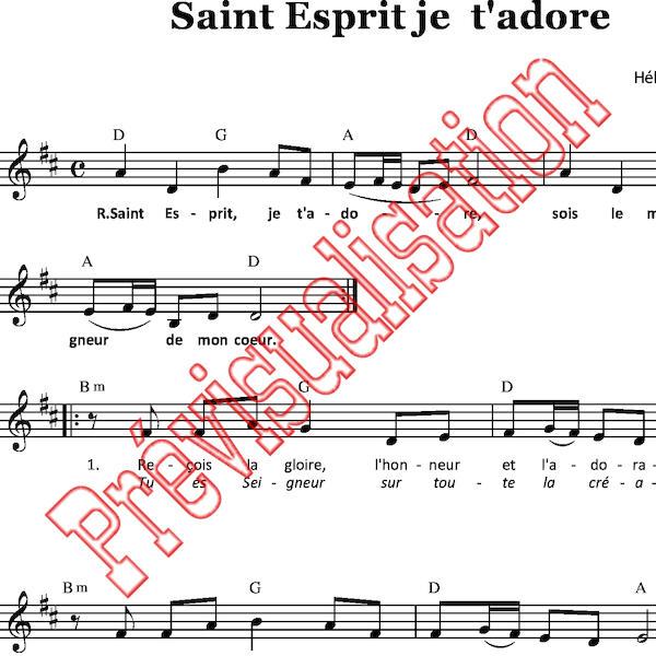 saint esprit de dieu pdf